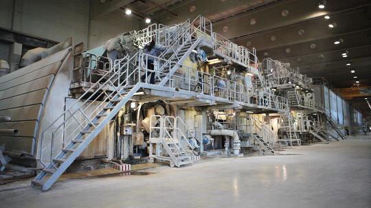 valmet  rebuilding a paper machine