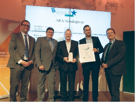 Bosch Packaging Technology gewinnt den Green Star Packaging Award 2017
