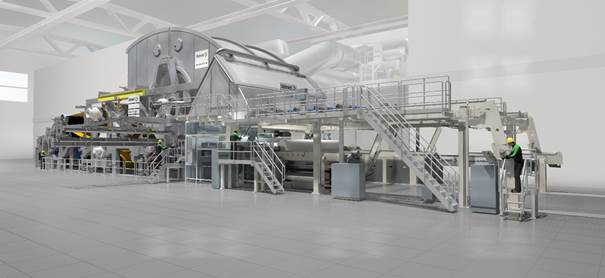 Valmet Advantage NTT tissue machine